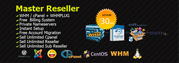 Unlimited Master Reseller Hosting now in just 30$/year