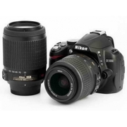 Nikon D3000 Digital SLR Camera with Nikon AF-S DX