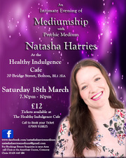 Evening of Mediumship with Psychic Medium Natasha Harries