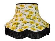 Handmade fabric lampshades
