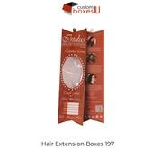 Standard design of Custom wholesale hair packaging in USA