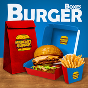 Order Now and Get The Best Custom Burger Boxes